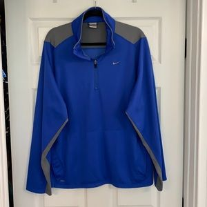 Nike Fit  1/4 zip pullover